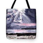Cloudy Twilight Skyshine Tote Bag
