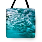 Cloudy Water Tote Bag