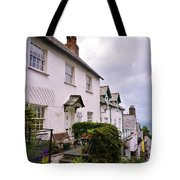 Clovelly Street View Tote Bag