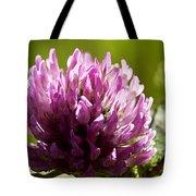 Clover Blossom Tote Bag