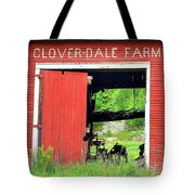 Clover Dale Farm Tote Bag
