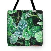 Clover Drops Tote Bag