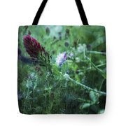 Clover Field Remix Tote Bag