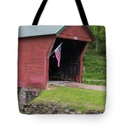 Clover Hollow Covered Bridge 01 Tote Bag