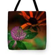 Clover In My Yard Tote Bag