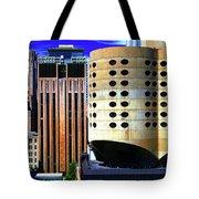 Cloverleaf Building Tote Bag