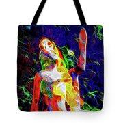 10780 Clown 3 - My Best Friend Neon Tote Bag