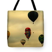 Clown Balloon Tote Bag