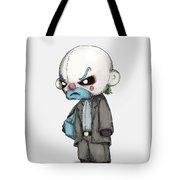 Clown Bank Robber Plush Tote Bag
