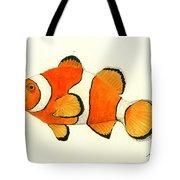 Clown Fish Tote Bag
