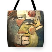Clown Painting Tote Bag