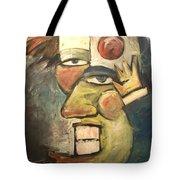 Clown Painting Tote Bag