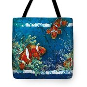 Clowning Around - Clownfish Tote Bag