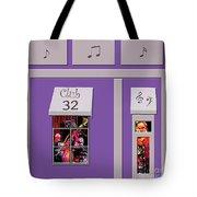 Club 32 Tote Bag