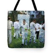 Club Cricket Tea Break Tote Bag