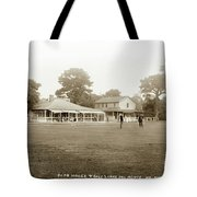 Club House And Golf Links, Old Del Monte, Monterey, California Circa 1920 Tote Bag