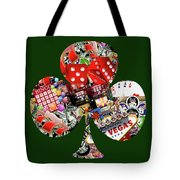 Club Playing Card Shape  Tote Bag