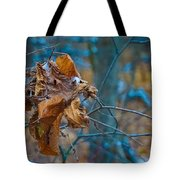 Clump Of Fall - Early Winter Tote Bag