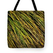 Clump Of Grass Texture Tote Bag