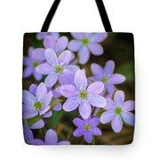 Clump Of Springtime Tote Bag