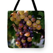 Cluster Of Ripe Grapes Tote Bag