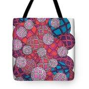 Cluster Of Spheres Tote Bag