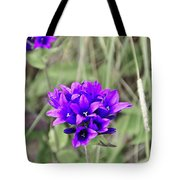 Clustered Bellflower Tote Bag