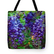 Clusters Of Wisteria Tote Bag