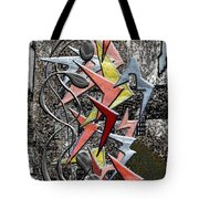 Clutch Of Chevrons Tote Bag