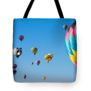 Cluttered Sky Tote Bag