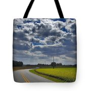 Clyde Fitzgerald Road Scenery Tote Bag