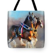 Clydesdales Tote Bag
