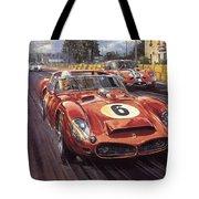 Cma 051 1962 Le Mans Ferrari 330 Driver Phil Hill Roy Rob Tote Bag