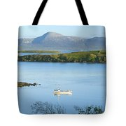 Co Mayo, Ireland Fishing Boat In Clew Tote Bag