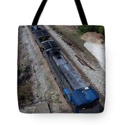 Coal Crossing Tote Bag