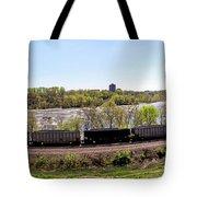 Coal Train Tote Bag