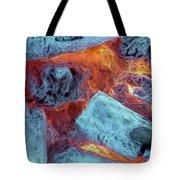 Coals And Embers Tote Bag