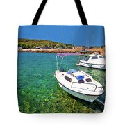 Coast And Beach Of Prvic Island Summer View Tote Bag