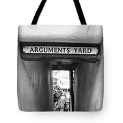 Coast - Arguments Yard, Whitby, England Tote Bag
