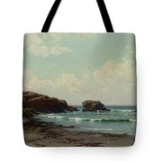 coast by Alfred Thompson Bricher Tote Bag