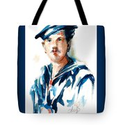 The Uss Red White And Blue Coast Guard 1923 Tote Bag