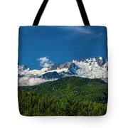 Coast Mountains Tote Bag
