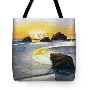 Coast Of Brandon, Oregon Tote Bag