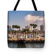 Coast Of Long Beach #3 Tote Bag
