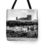 Coast - Whitby Abbey And Church Tote Bag