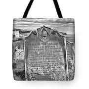 Coast - Whitby Freemason Grave Tote Bag