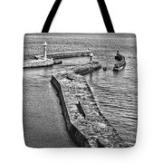 Coast - Whitby Harbour Tote Bag