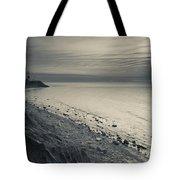Coast With A Lighthouse Tote Bag