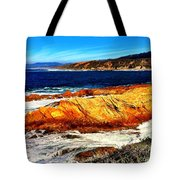Coastal Abstraction Tote Bag