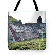 Coastal Cottage Nestled In Sunshine Tote Bag